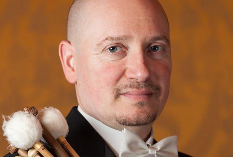 Dimitri Fiorin insegnante di percussioni
