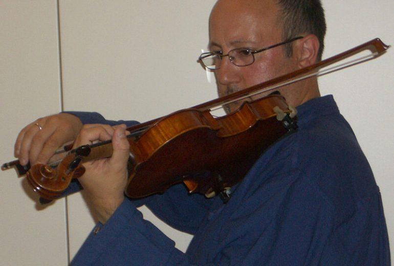 Giorgio Cibien insegnante di violino