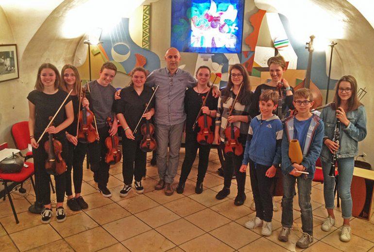 Saggio dei violini della scuola