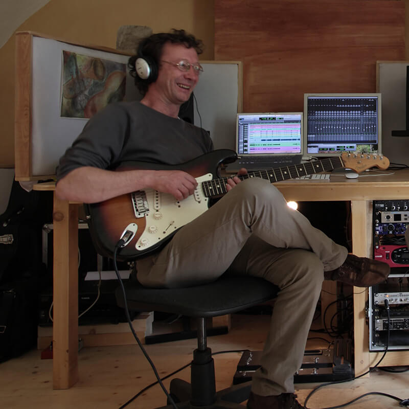 Mario Bettega insegnante di chitarra elettrica