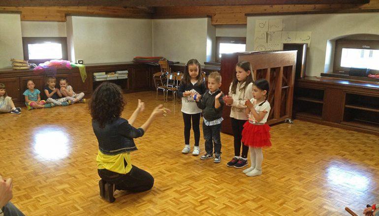 Saggio dei bambini di avviamento alla musica