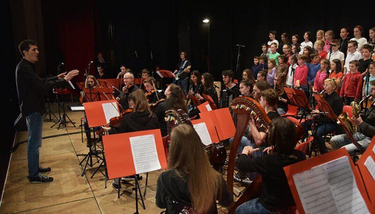 orchestra giovanile di Primiero in concerto