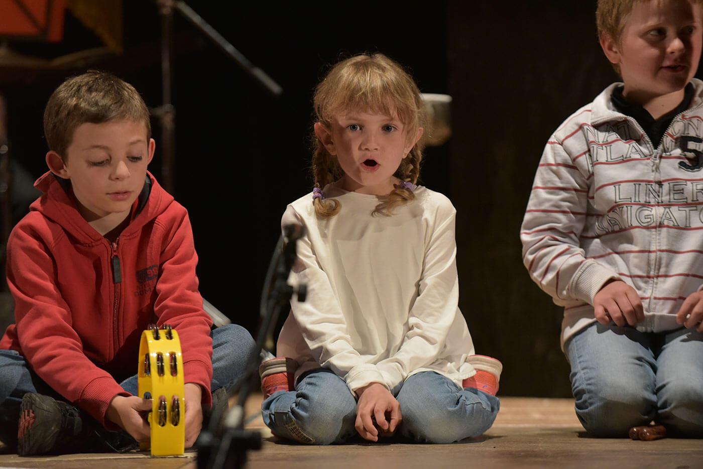 Bambini di avviamento alla musica