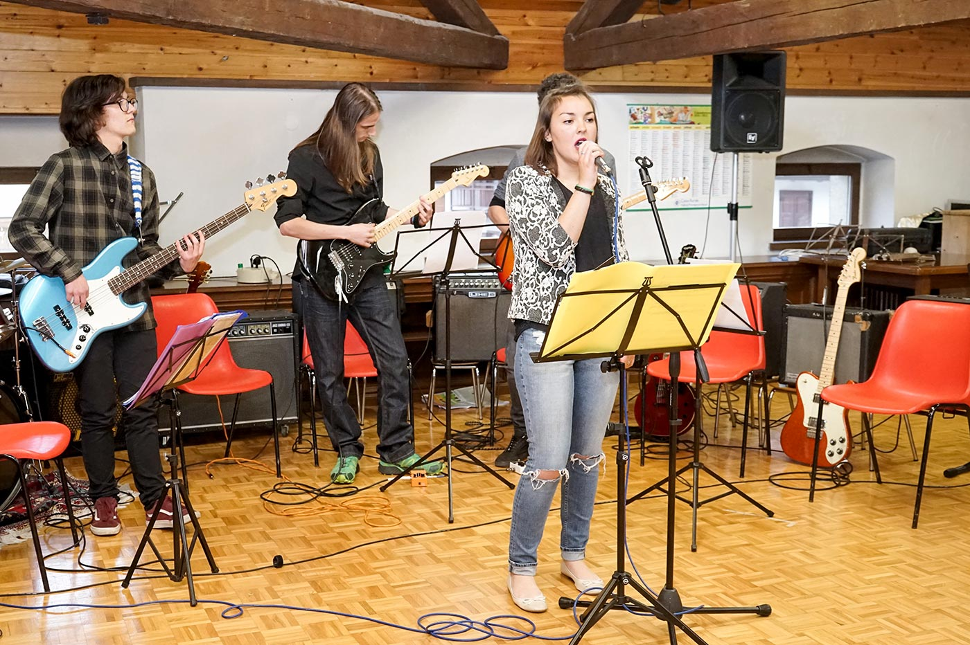 Saggio Band musica moderna