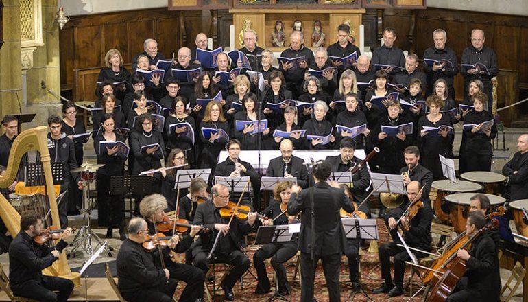 Coro misto della scuola in concerto a Pieve