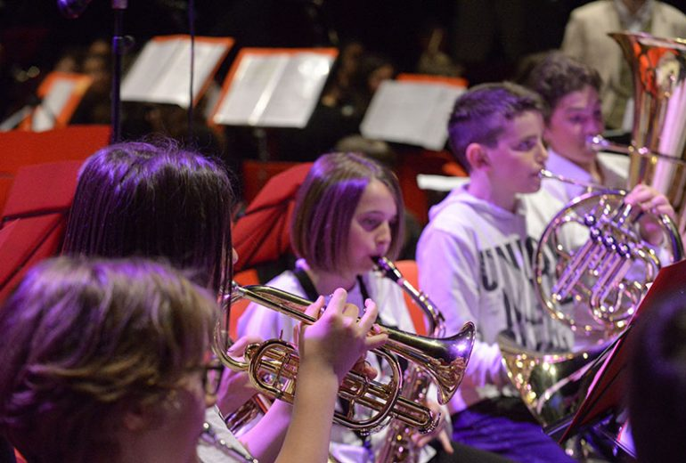Ottoni dell'orchestra giovanile
