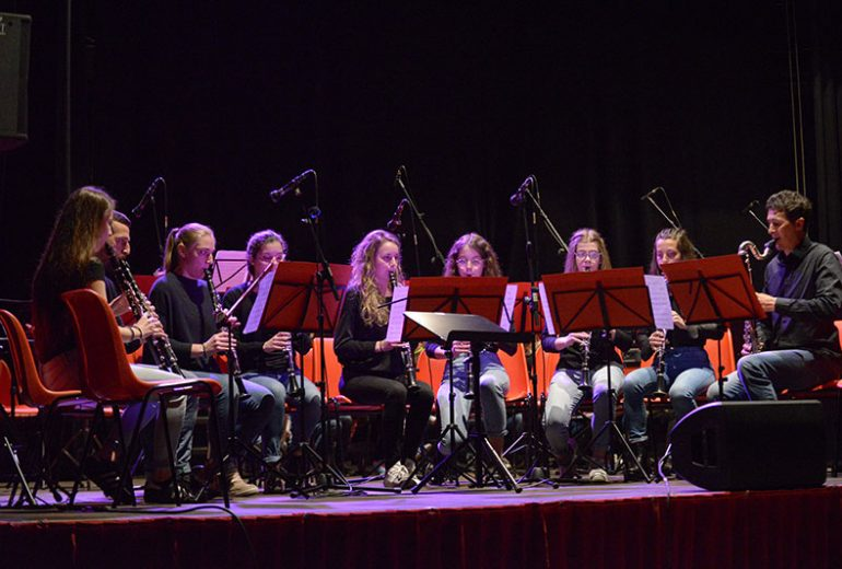 Ensemble di clarinetti in concerto