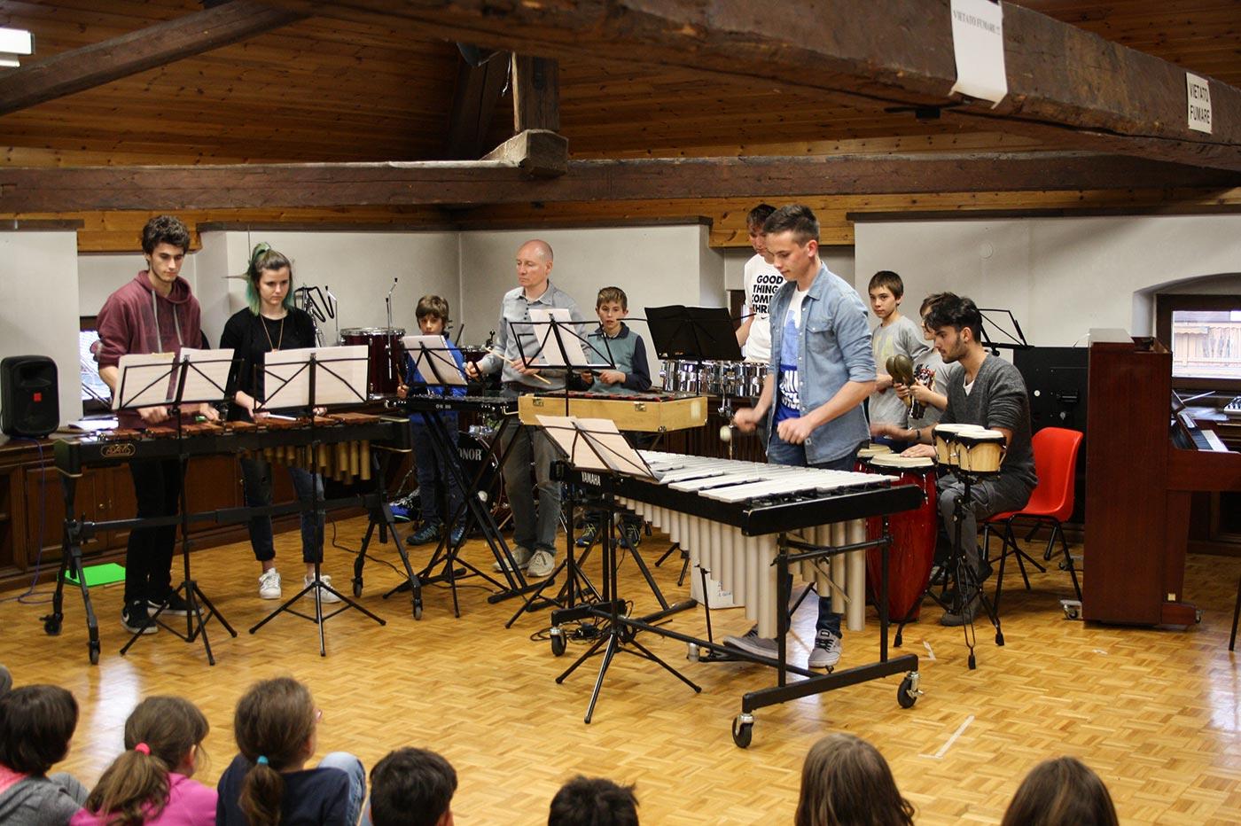 Saggio classe di percussioni