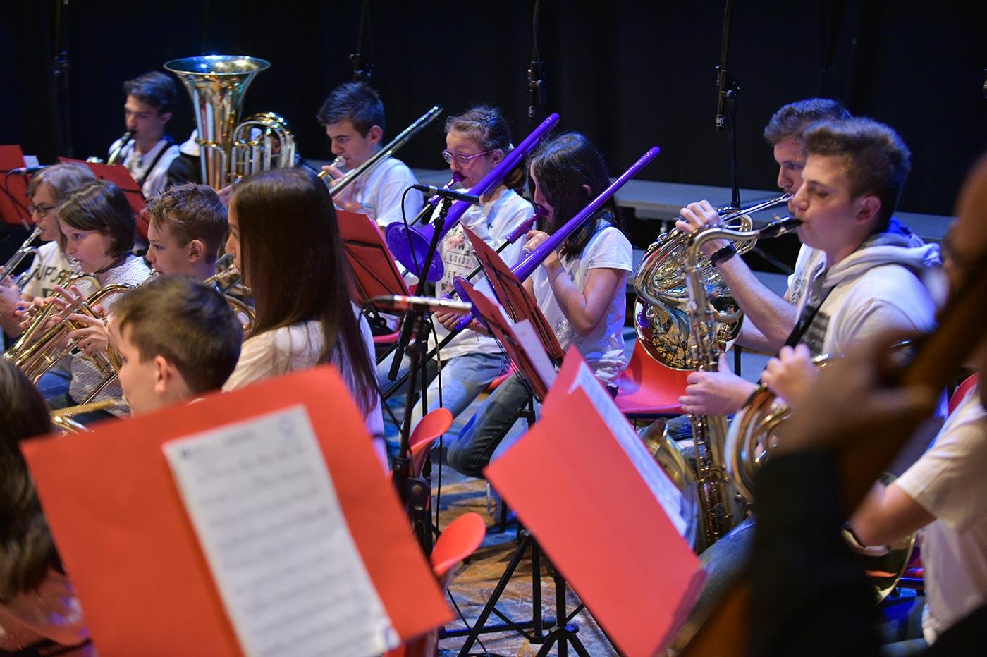Fiati dell'orchestra giovanile