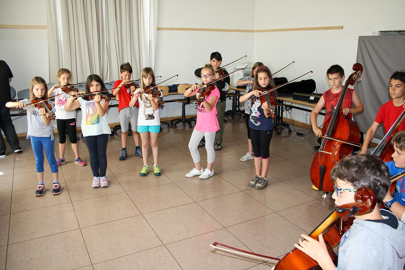 Orchestra scuola elementare