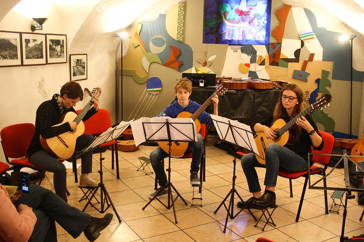 Trio chitarra classica