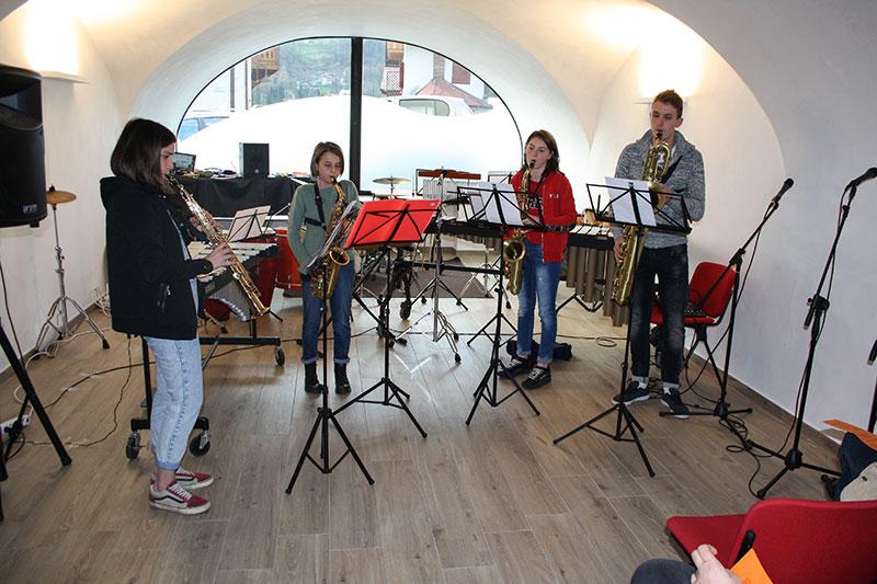 Saggio quartetto sax